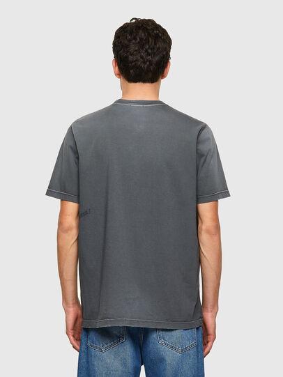 Diesel - T-JUST-B64, Grau - T-Shirts - Image 2