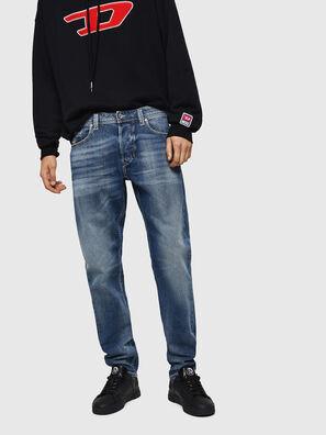 Larkee-Beex 0853P, Mittelblau - Jeans