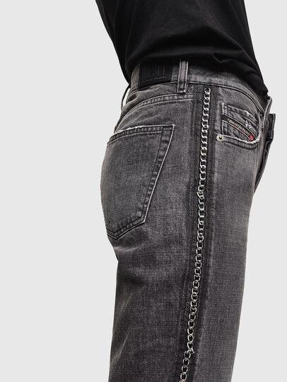 Diesel - Aryel 0096I, Schwarz/Dunkelgrau - Jeans - Image 5