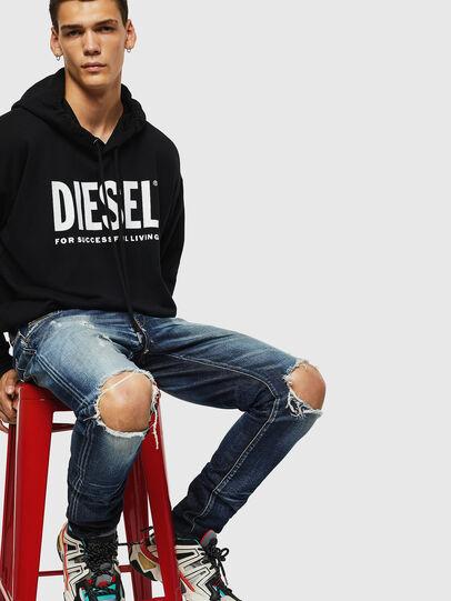 Diesel - D-Strukt 084AD, Mittelblau - Jeans - Image 4