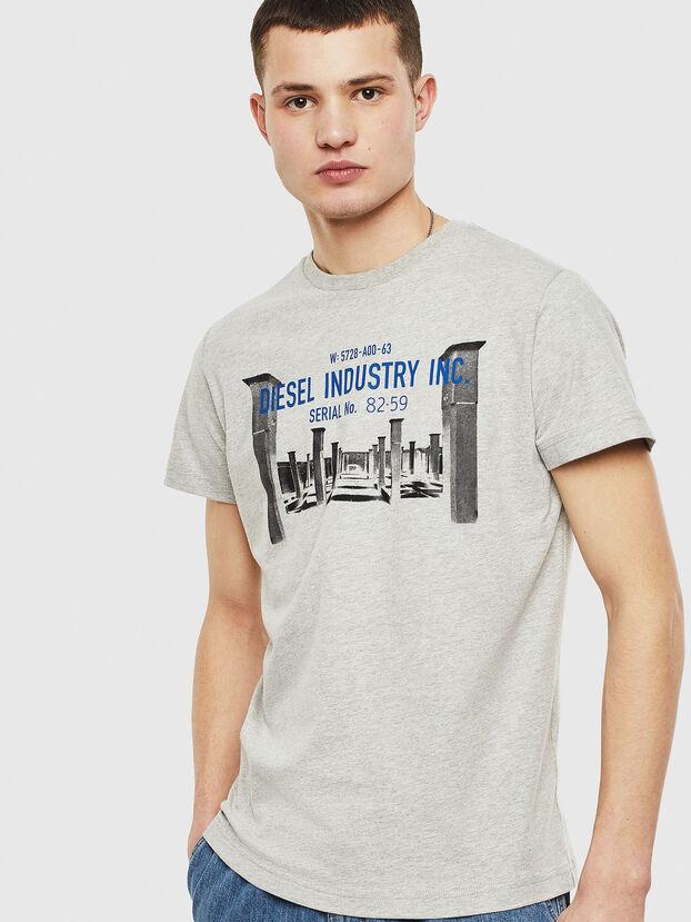 T-DIEGO-S13, Grau - T-Shirts