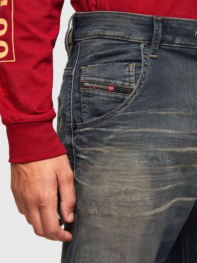 Diesel - KROOLEY JoggJeans® 069QE, Dunkelblau - Jeans - Image 3