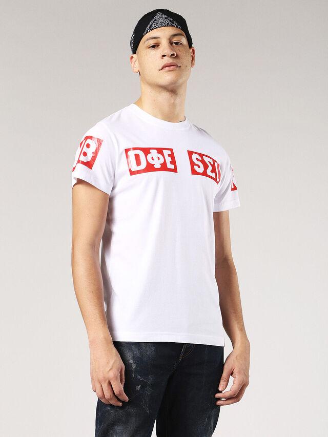 T-DIEGO-SO, Weiß