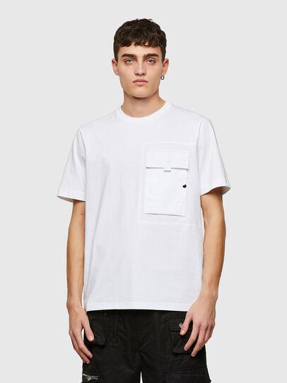 Diesel - T-WORKAN, Weiß - T-Shirts - Image 1