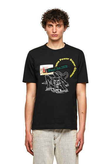 T-Shirt mit Grafik-Prints