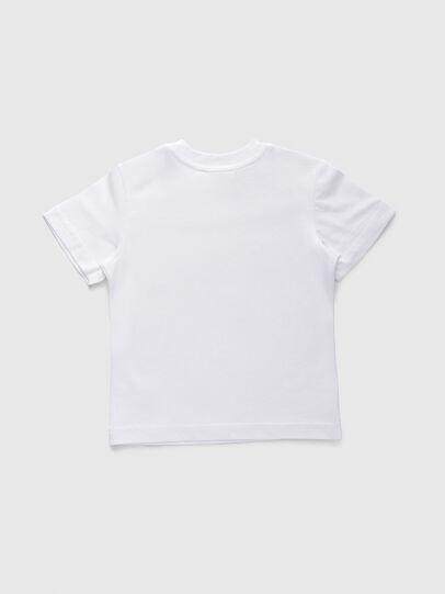 Diesel - TJUSTDIVISIONB, Weiß - T-Shirts und Tops - Image 2