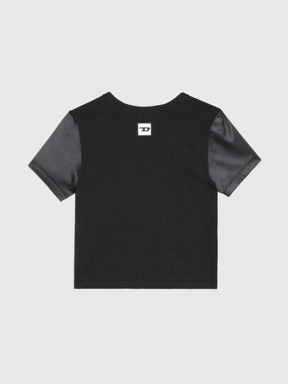 Diesel - UFTEE-ROUNDIE-SAT, Schwarz - T-Shirts - Image 2