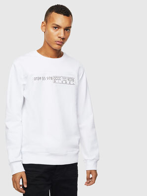 S-CORY, Weiß - Sweatshirts