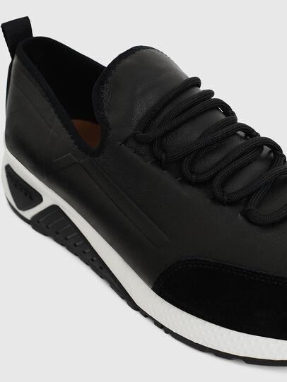 Diesel - S-KBY, Lederschwarz - Sneakers - Image 4
