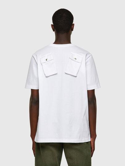 Diesel - T-JUSPOCK, Weiß - T-Shirts - Image 2