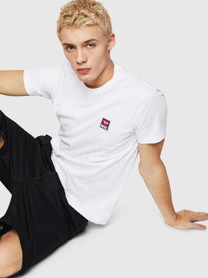 T-DIEGO-DIV, Weiß - T-Shirts
