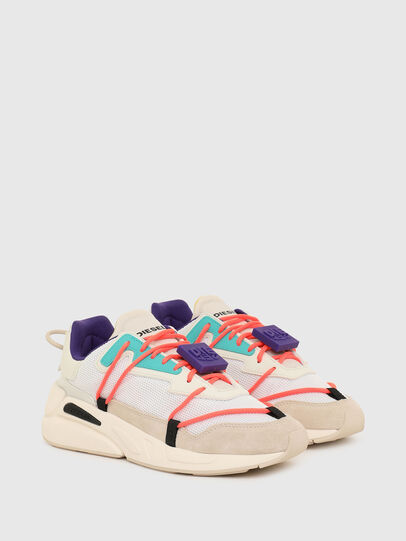 Diesel - S-SERENDIPITY LC EVO, Weiss/Rosa - Sneakers - Image 2