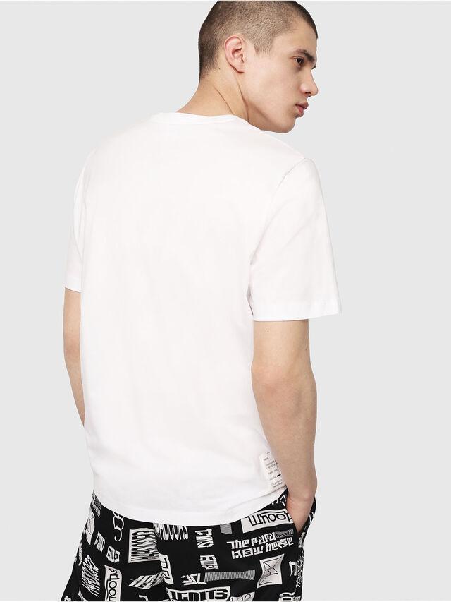 Diesel - T-JUST-Y7, Weiß - T-Shirts - Image 2