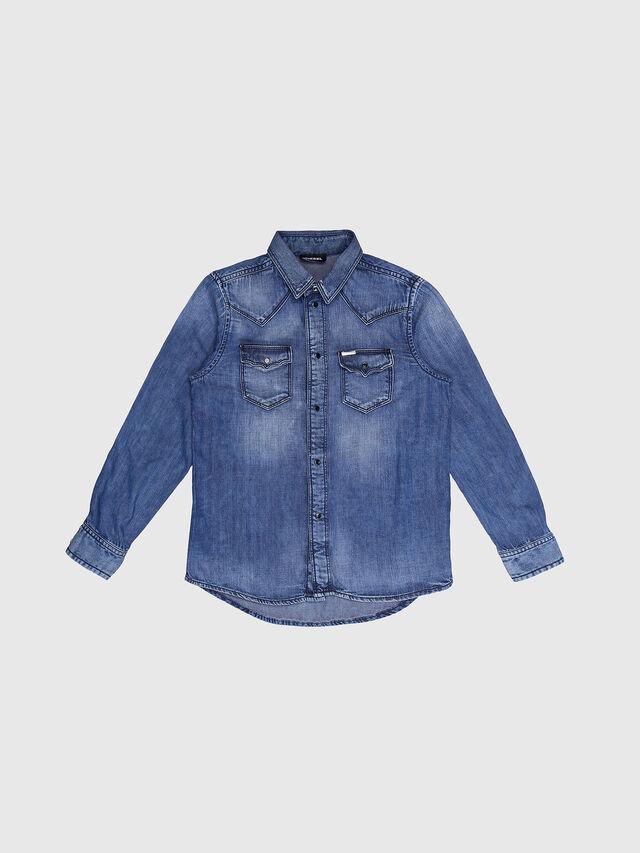 KIDS CITROS, Jeansblau - Hemden - Image 1