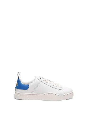 Low Top-Sneakers aus Leder