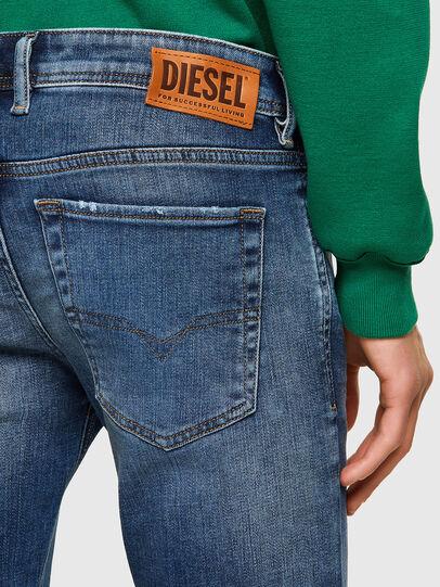 Diesel - Sleenker 009PN, Mittelblau - Jeans - Image 4