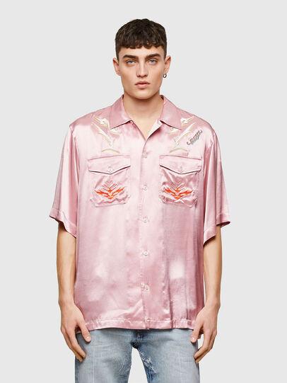 Diesel - S-MITCH, Rosa - Hemden - Image 1
