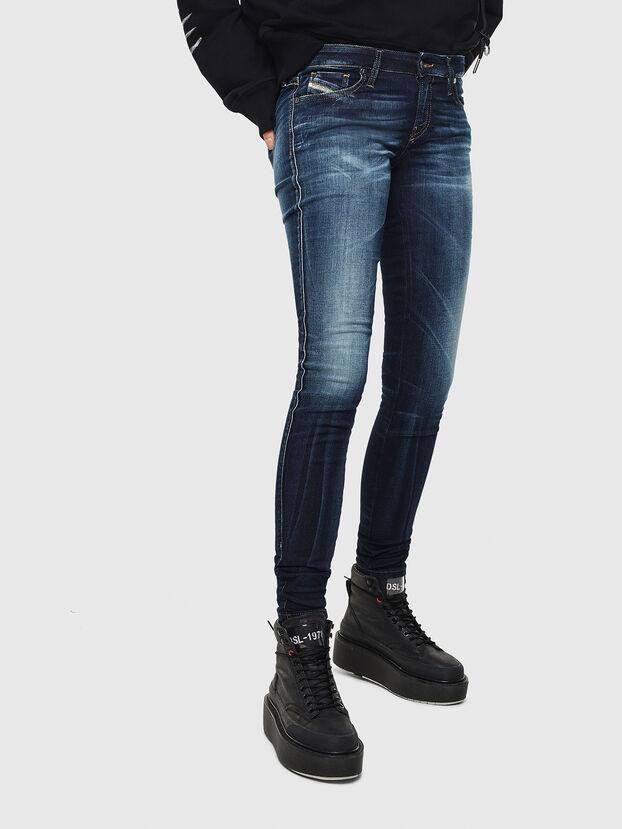 Gracey JoggJeans 069JX, Dunkelblau - Jeans