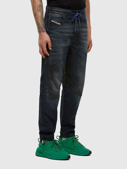 Diesel - D-Skint JoggJeans 069PE, Dunkelblau - Jeans - Image 6