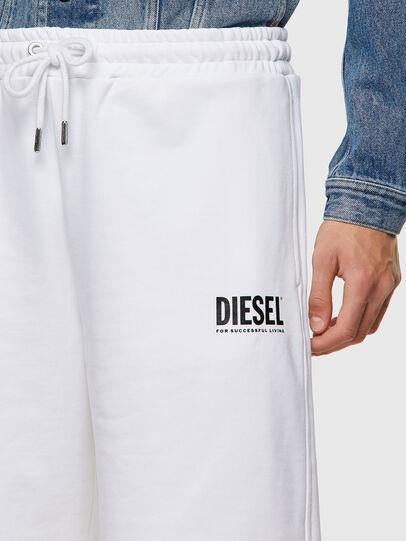 Diesel - P-CROWN-ECOLOGO, Weiß - Kurze Hosen - Image 3