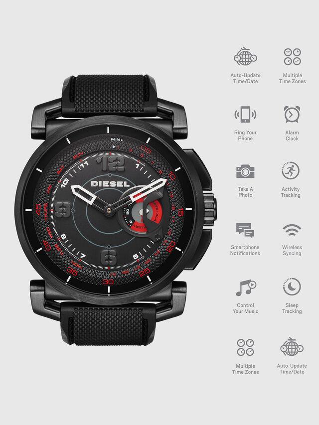 Diesel - DT1006, Schwarz - Smartwatches - Image 1