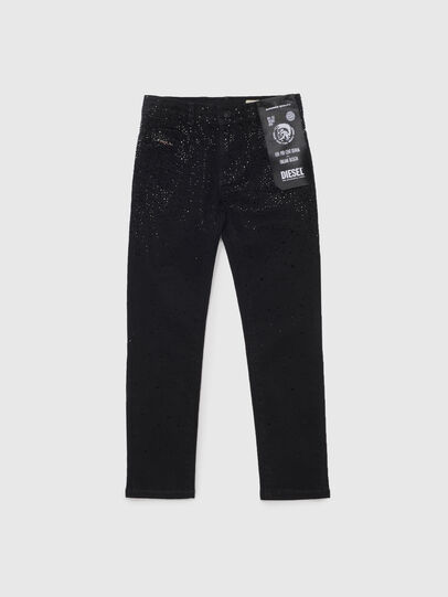 Diesel - BABHILA-J, Schwarz/Dunkelgrau - Jeans - Image 1