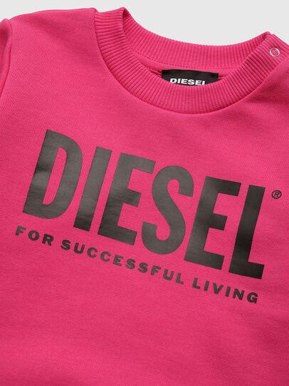 Diesel - SCREWDIVISION-LOGOB, Rosa - Sweatshirts - Image 3
