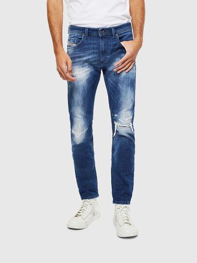 Diesel - Thommer JoggJeans 0099S, Dunkelblau - Jeans - Image 1