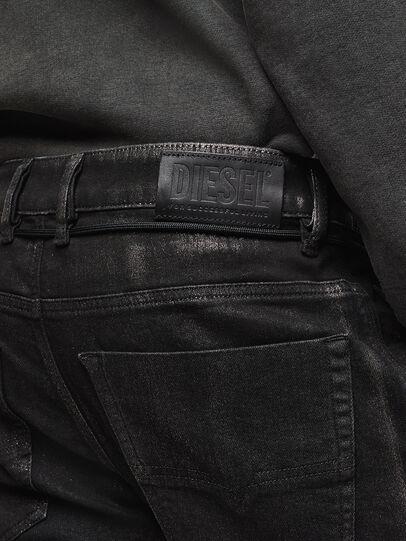 Diesel - D-Luhic JoggJeans 0092W, Schwarz/Dunkelgrau - Jeans - Image 5