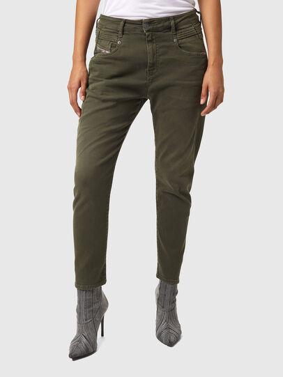 Diesel - Fayza JoggJeans® Z670M, Armeegrün - Jeans - Image 1