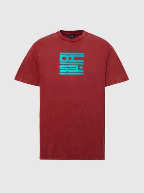 T-DIEGOS-N31, Rot - T-Shirts