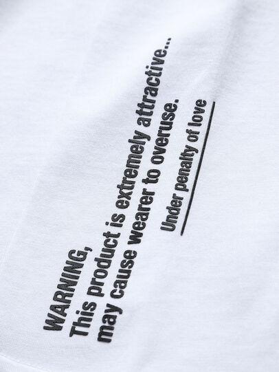 Diesel - THOVERY, Weiß - T-Shirts und Tops - Image 3
