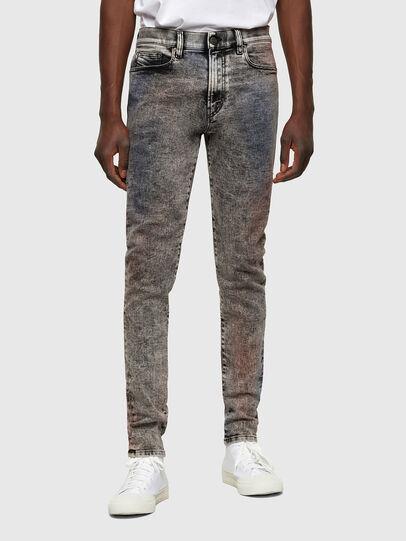 Diesel - D-Amny 009VG, Schwarz/Dunkelgrau - Jeans - Image 1