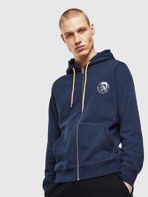 UMLT-BRANDON-Z, Marineblau - Sweatshirts