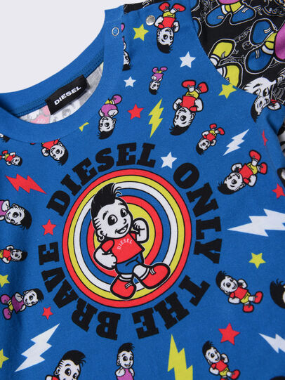 Diesel - TOTIXB, Blau/Schwarz - T-Shirts und Tops - Image 3