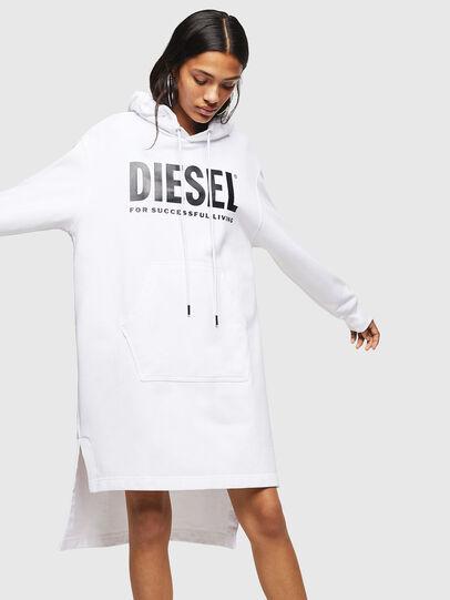 Diesel - D-ILSE-T, Weiß - Kleider - Image 1