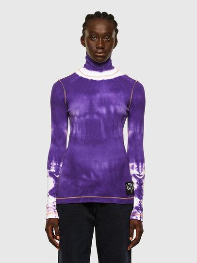 Diesel - T-LAPIS, Violett - T-Shirts - Image 1
