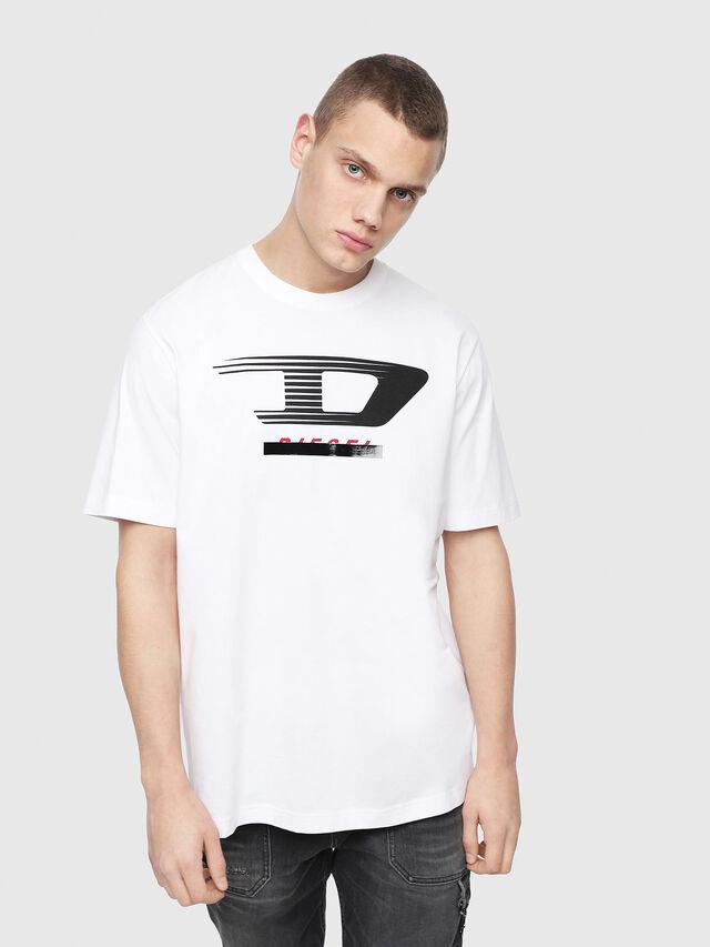 Diesel - T-JUST-Y4, Weiß - T-Shirts - Image 1