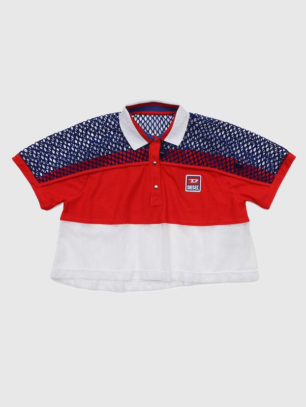 TVAITEA, Rot/Weiß - T-Shirts und Tops