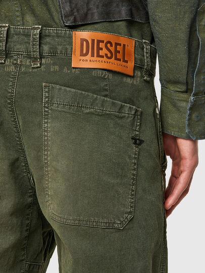 Diesel - D-Azerr JoggJeans® 069WH, Armeegrün - Jeans - Image 3