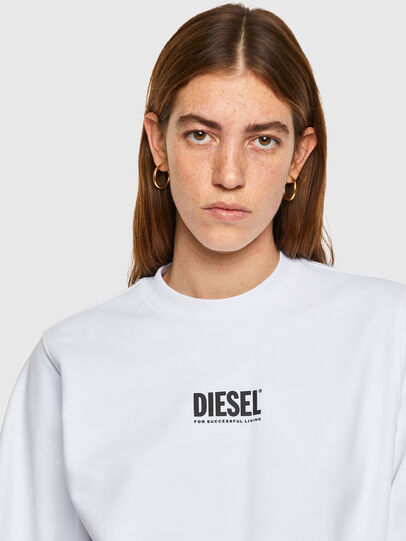 Diesel - F-ANG-SMALLOGO, Weiß - Sweatshirts - Image 3