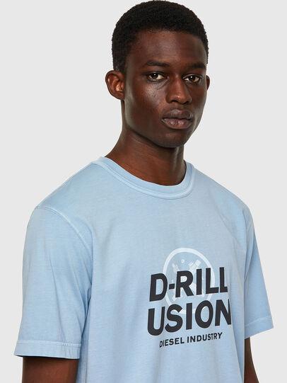 Diesel - T-JUBINDY, Hellblau - T-Shirts - Image 3