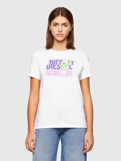 Diesel - T-SILY-K6, Weiß - T-Shirts - Image 1
