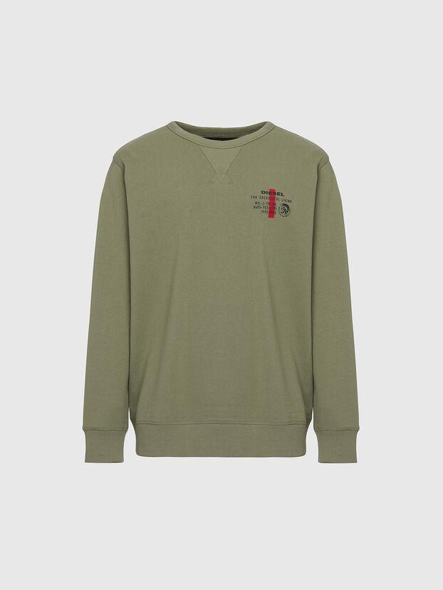UMLT-WILLY, Olivgrün - Sweatshirts