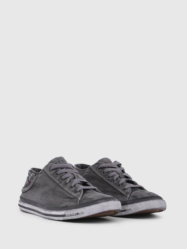 Diesel - EXPOSURE LOW I, Silbergrau - Sneakers - Image 2