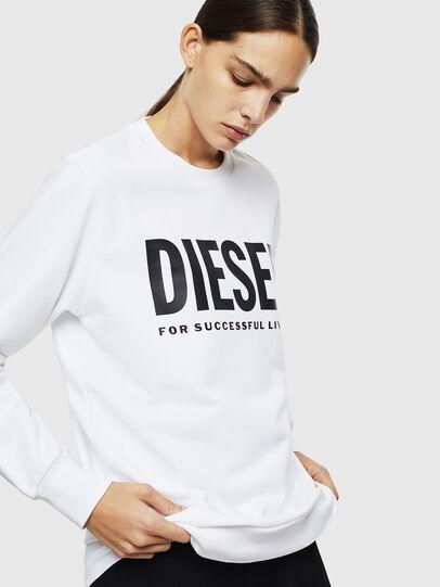Diesel - S-GIR-DIVISION-LOGO, Weiß - Sweatshirts - Image 2