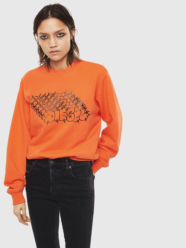 F-ANG-S2, Orange - Sweatshirts