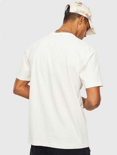 Diesel - T-JUST-T14, Weiß - T-Shirts - Image 2