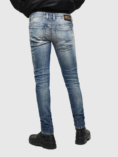 Diesel - Sleenker 0098D, Hellblau - Jeans - Image 2