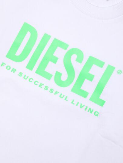 Diesel - SCREWDIVISION-LOGOX, Weiß - Sweatshirts - Image 3